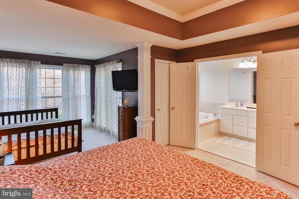Spacious Master suite with sitting room - 2464 TERRA COTTA CIR, HERNDON
