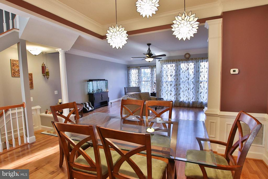 What a beautiful space for entertaining! - 2464 TERRA COTTA CIR, HERNDON
