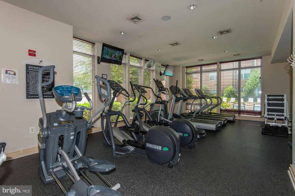 Community fitness room - 2765 CENTERBORO DR #466, VIENNA