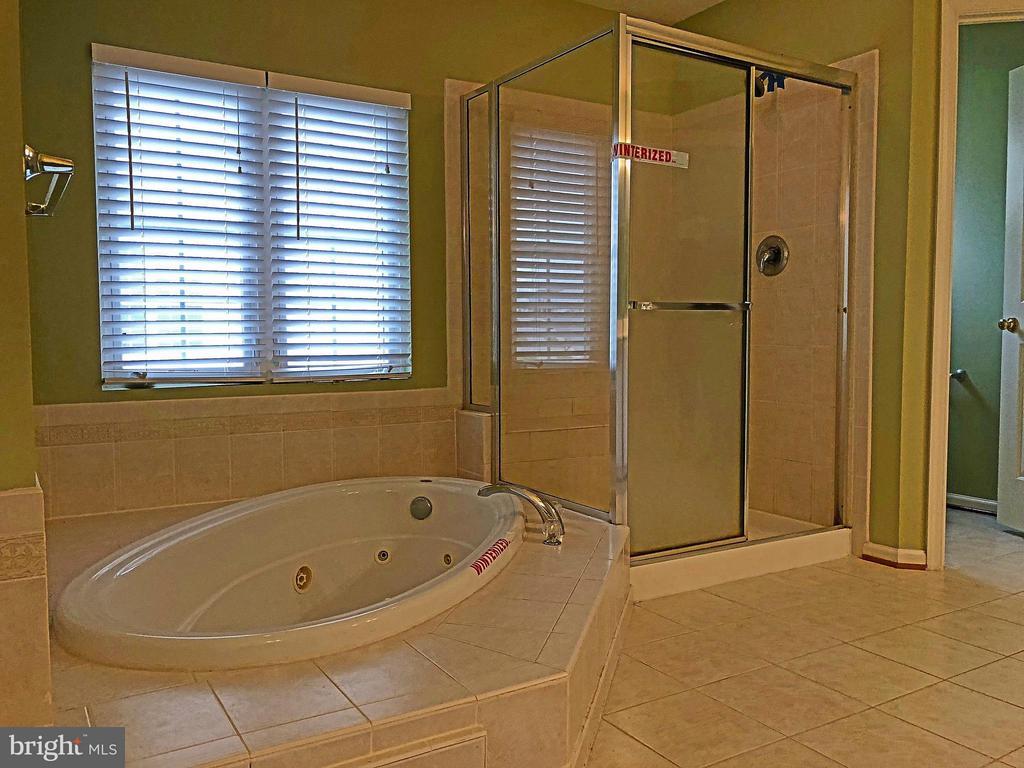Bath (Master) - 5405 SILVER MAPLE LN, FREDERICKSBURG
