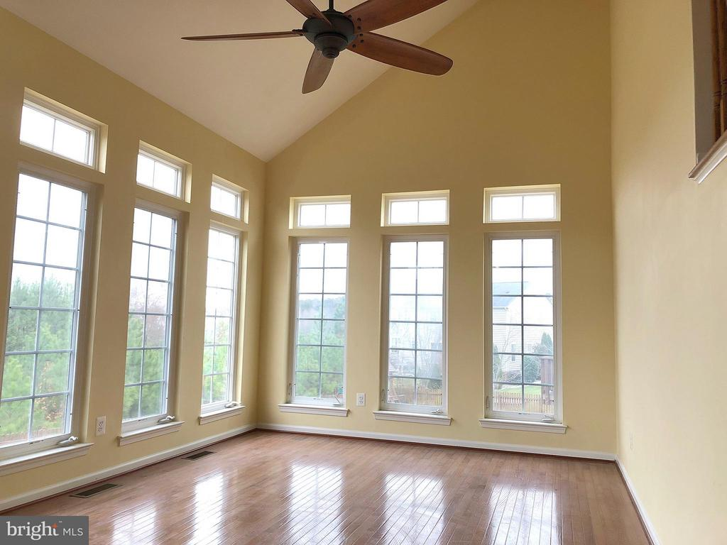 View of Sunroom from Family Room - 5405 SILVER MAPLE LN, FREDERICKSBURG