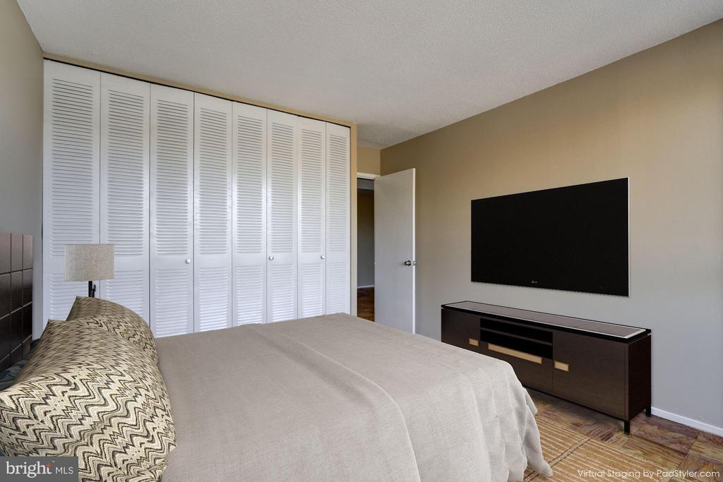 Bedroom (Master) - 1301 DELAWARE AVE SW #N-303, WASHINGTON