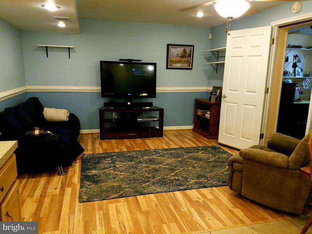 Basement Living Room - 9513 FLINT HILL CT, FREDERICKSBURG