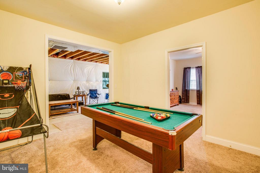 Basement finished rec area - 4710 RIVER CREST CT, FREDERICKSBURG