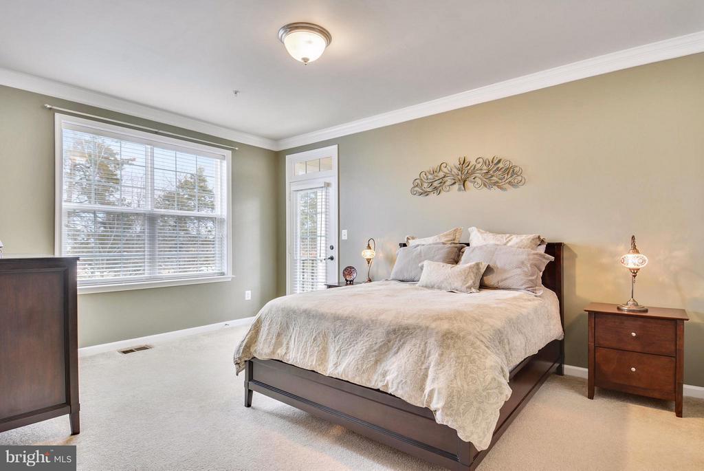 Large Light-filled Master Bedroom - 22642 VERDE GATE TER #4G, ASHBURN