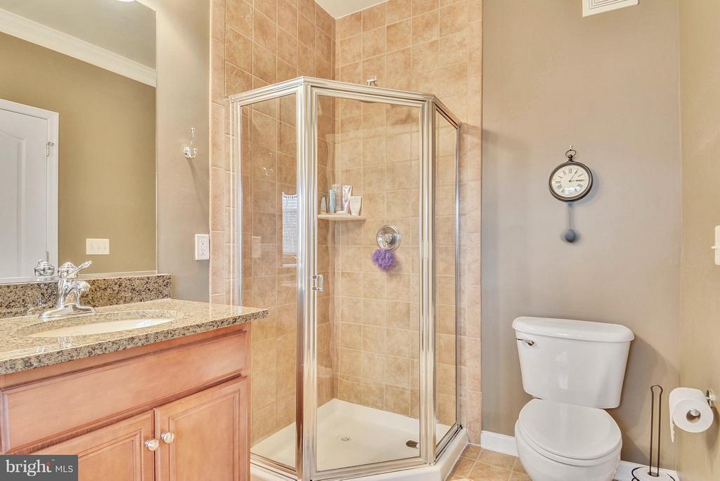 Separate Shower in Master Bath - 22642 VERDE GATE TER #4G, ASHBURN