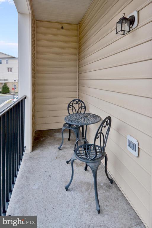 Sunny Balcony off of the Master Bedroom - 22642 VERDE GATE TER #4G, ASHBURN