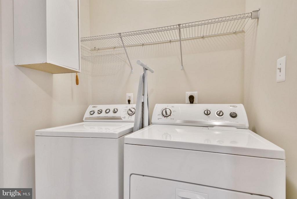 Laundry Room on the Second Level - 22642 VERDE GATE TER #4G, ASHBURN