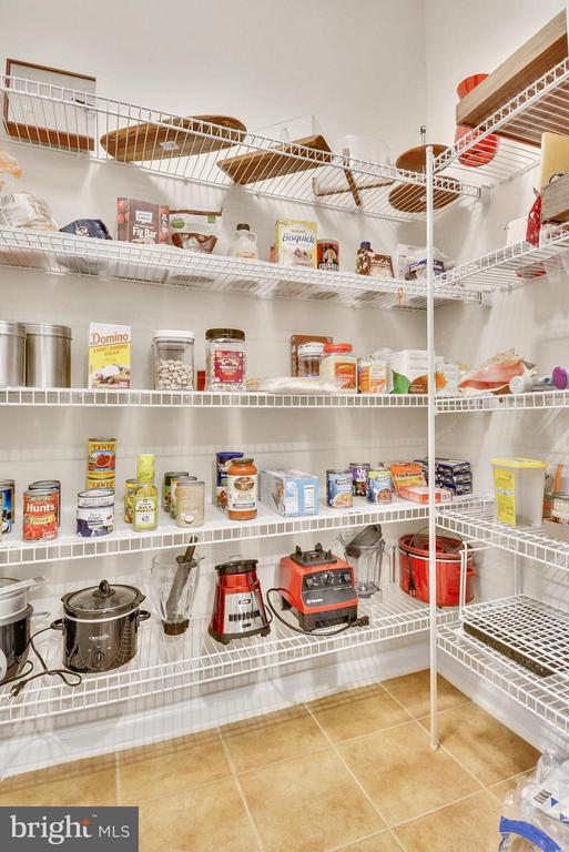 Extra Large Pantry in the Kitchen - 22642 VERDE GATE TER #4G, ASHBURN
