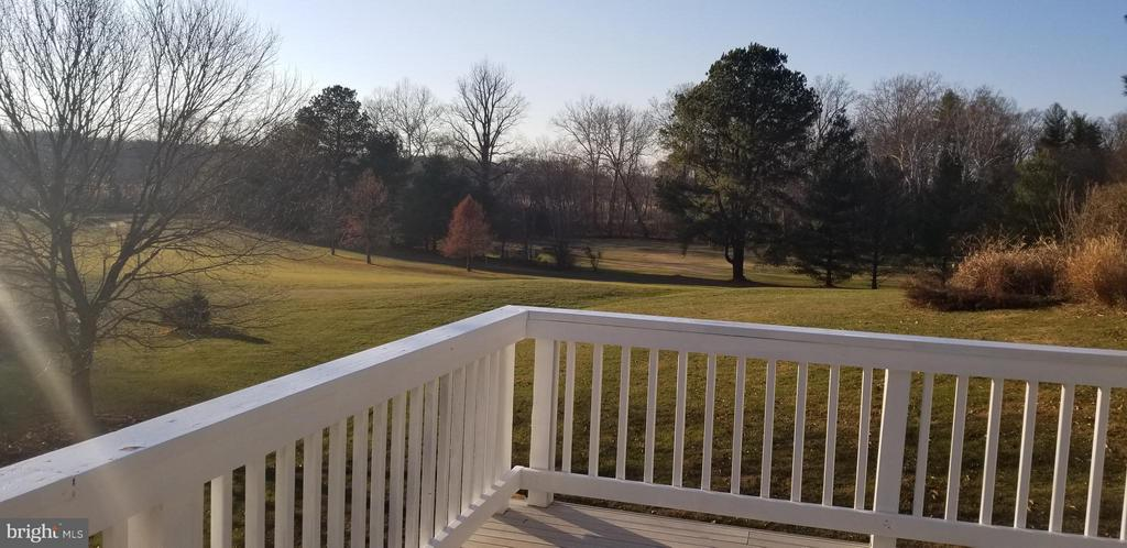 View from Deck - 9666 SPRINGS RD, WARRENTON
