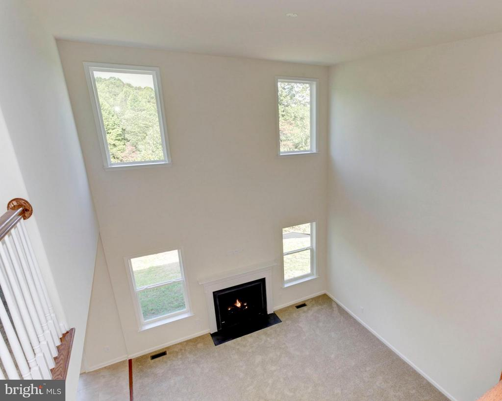 View of Two-Story Family Room - 379 MOUNT HOPE CHURCH RD, STAFFORD