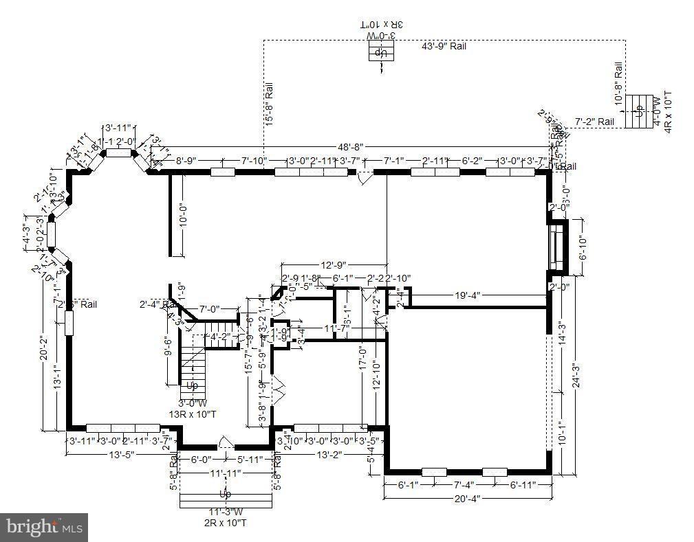Floor plan inside main level - 22520 SWEETLEAF LN, GAITHERSBURG