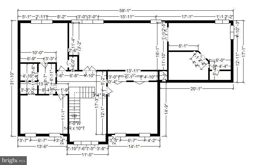 Floorplan inside upper level - 22520 SWEETLEAF LN, GAITHERSBURG