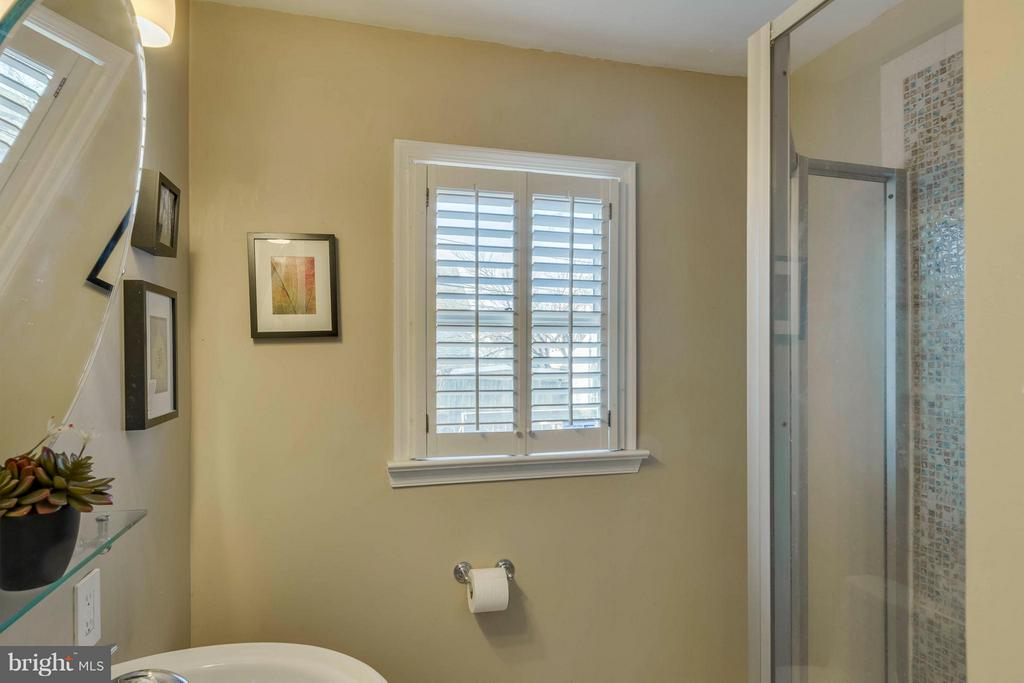 Remodeled full bath on LL - 6908 DUKE DR, ALEXANDRIA