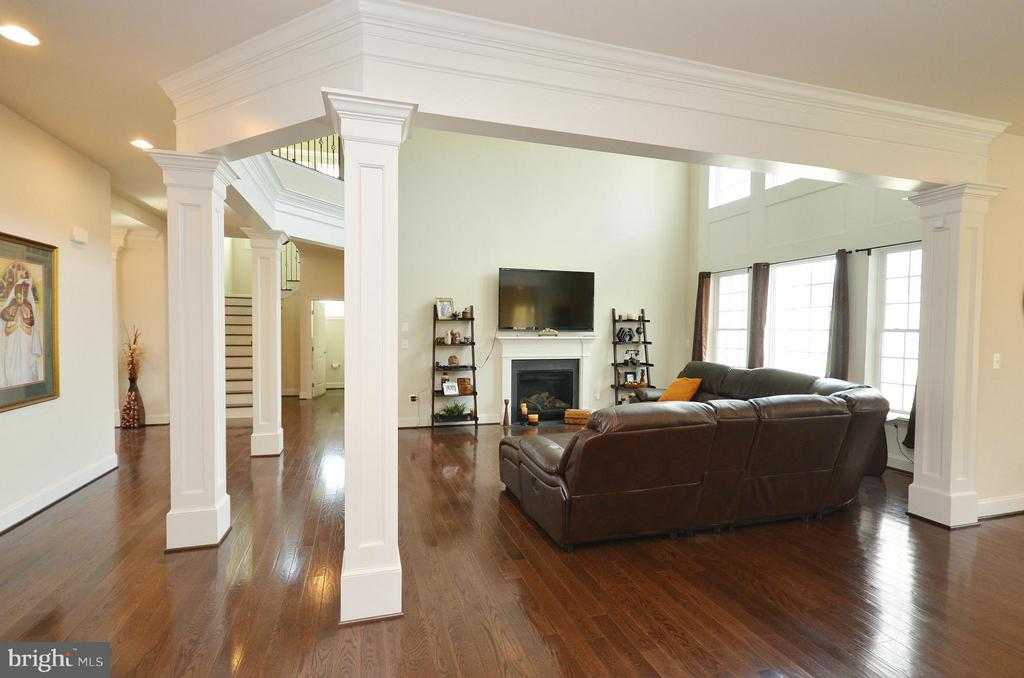 Family Room - 26605 MARBURY ESTATES DR, CHANTILLY