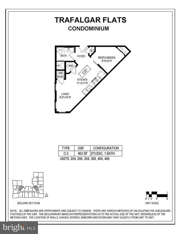 Floorplan - 989 BUCHANAN ST S #409, ARLINGTON