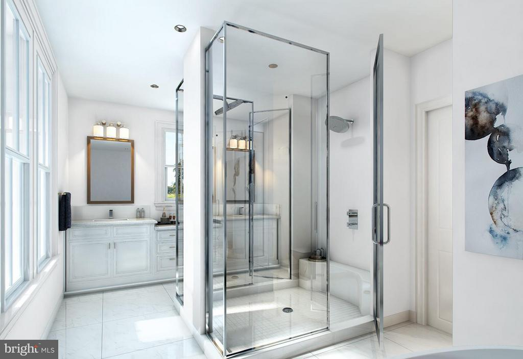 optional luxury bath - 314 BALDWIN STREET #314, GAITHERSBURG