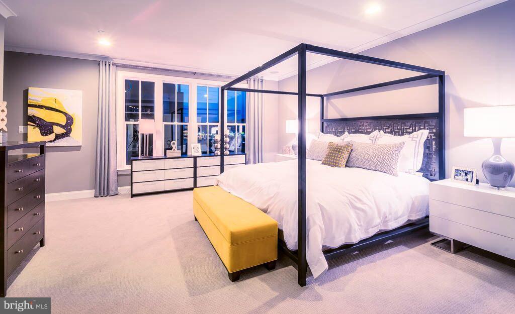 Bedroom (Master) - 309 GOODALL ST #8Q, GAITHERSBURG