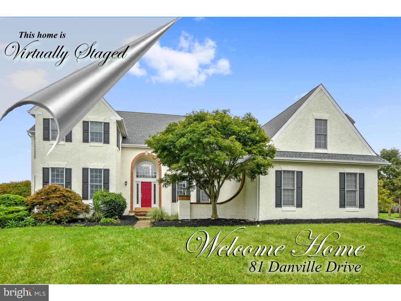 独户住宅 为 销售 在 81 DANVILLE Drive Princeton Junction, 新泽西州 08550 美国在/周边: West Windsor Twp
