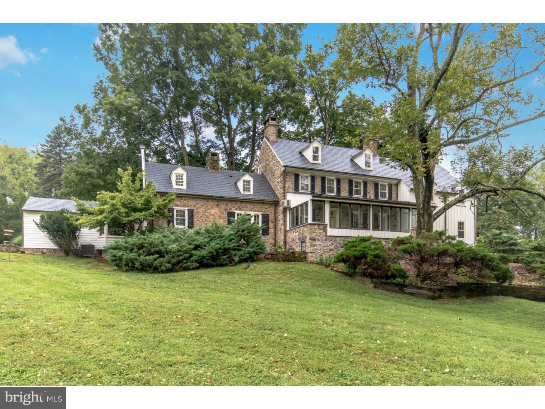 Maison unifamiliale pour l Vente à 6117 LOWER MOUNTAIN Road New Hope, Pennsylvanie 18938 États-UnisDans/Autour: Solebury Township