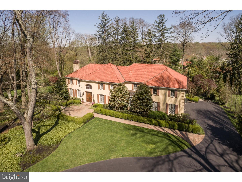 Частный односемейный дом для того Продажа на 575 HUSTON Road Wayne, Пенсильвания 19087 Соединенные Штаты