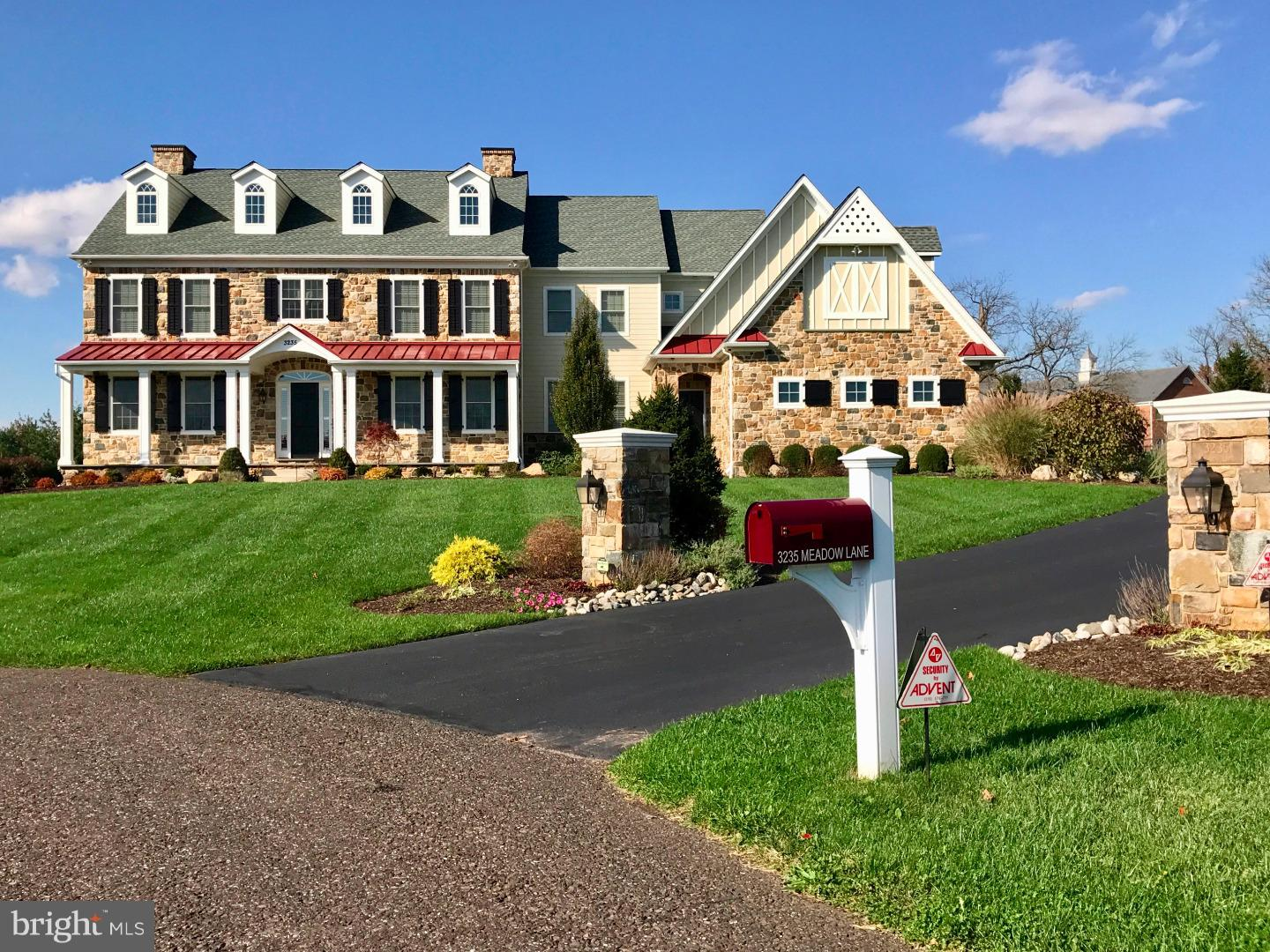 Single Family Home for Sale at 3235 MEADOW Lane Collegeville, Pennsylvania 19426 United States