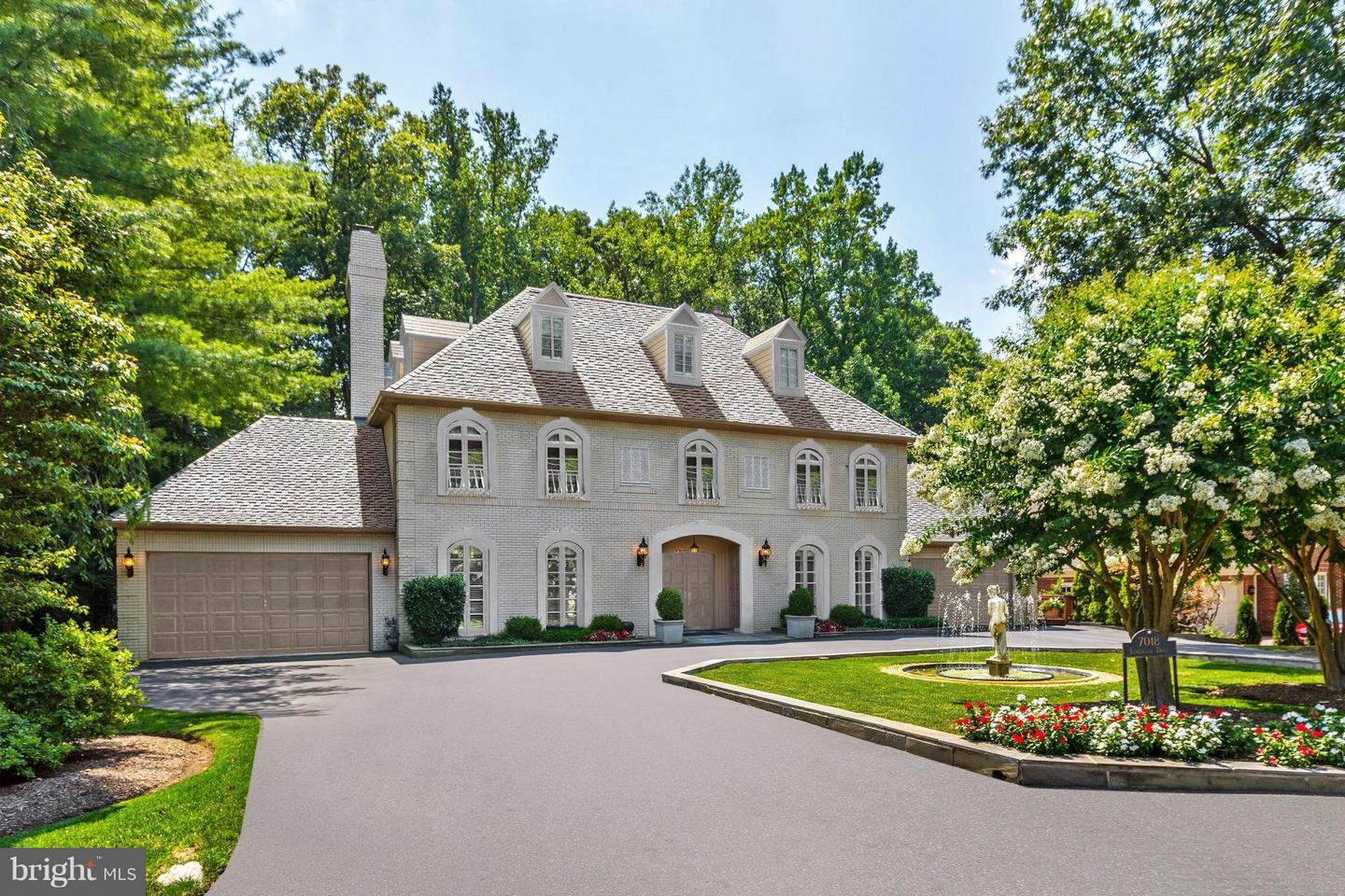 Photo of home for sale at 7018 Longwood Drive, Bethesda MD
