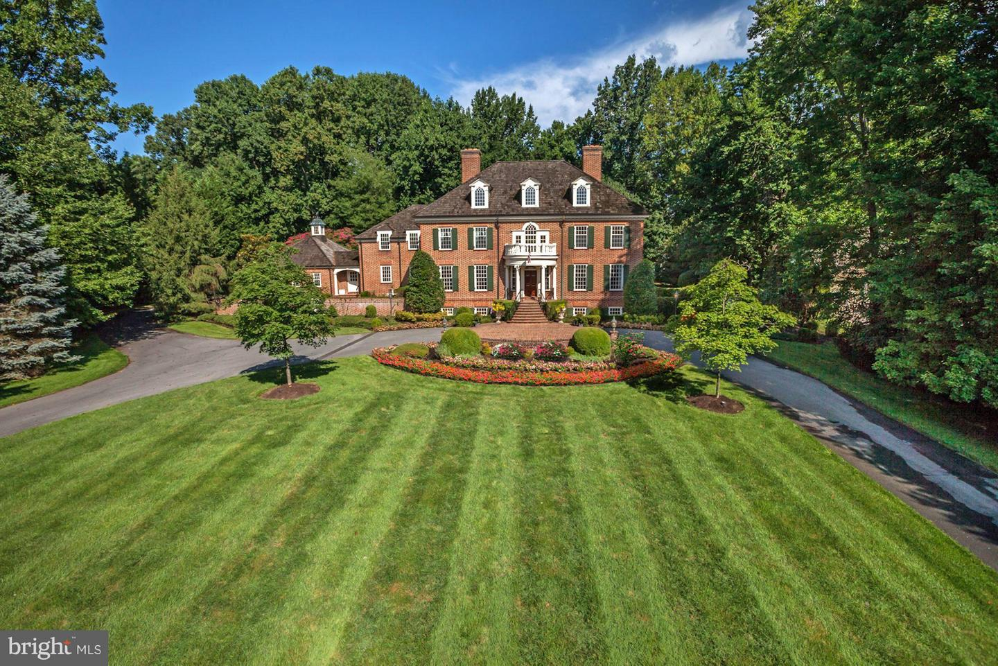 Photo of home for sale at 8517 Country Club Drive, Bethesda MD