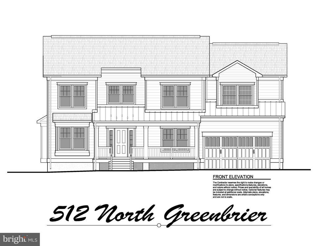 Exterior (Front) - 512 GREENBRIER ST N, ARLINGTON