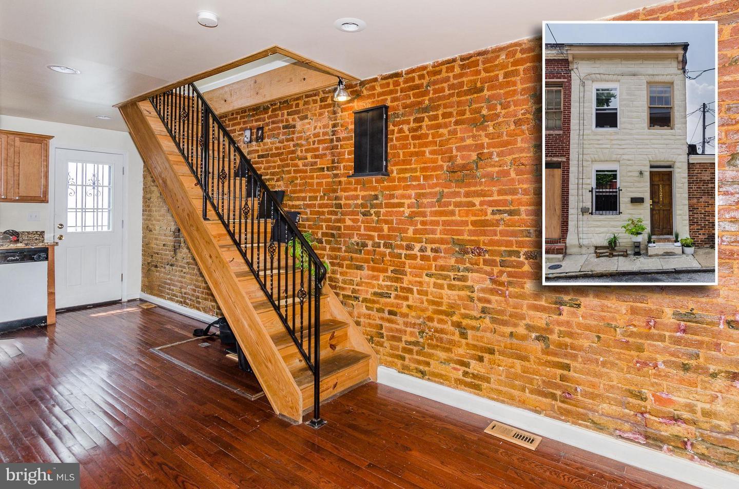 Photo of home for sale at 1521 Lemmon Street, Baltimore MD