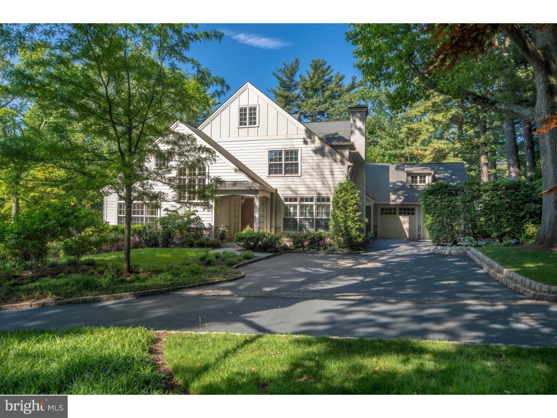 Частный односемейный дом для того Продажа на 914 916 BLACK ROCK Road Gladwyne, Пенсильвания 19035 Соединенные Штаты