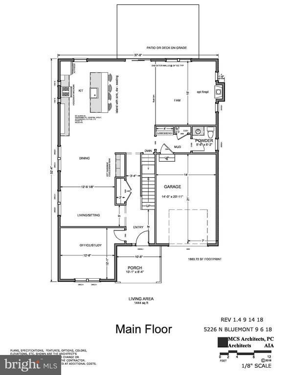 Main Level - 5226 BLUEMONT DR, ARLINGTON
