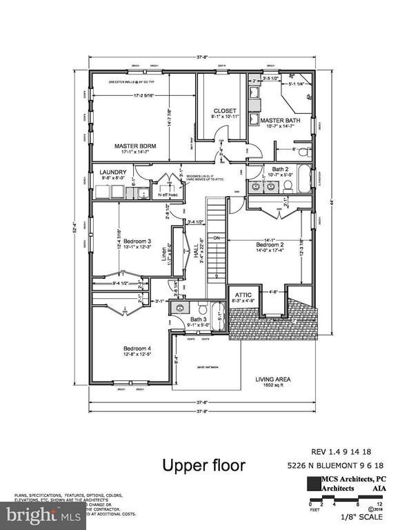 Upper Level - 5226 BLUEMONT DR, ARLINGTON