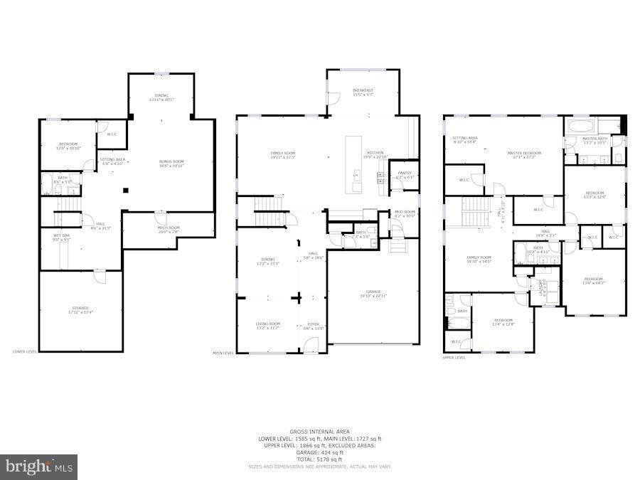 Floorplans - 4426 CAMLEY WAY, BURTONSVILLE