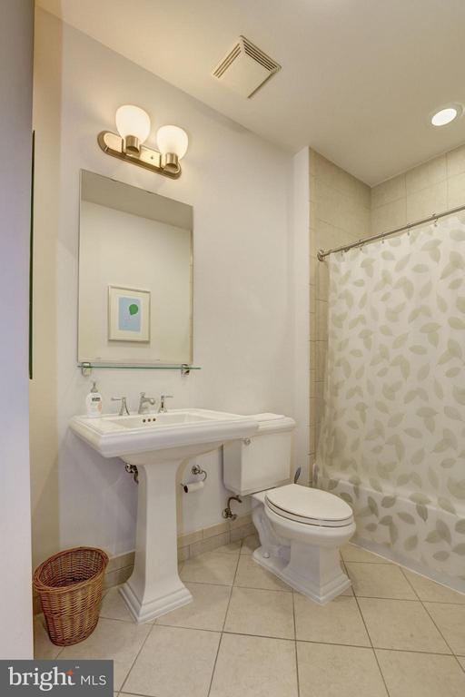 Hall Bath - 4821 MONTGOMERY LN #104, BETHESDA
