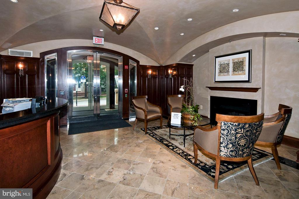 Foyer Entrance to building - 4821 MONTGOMERY LN #104, BETHESDA