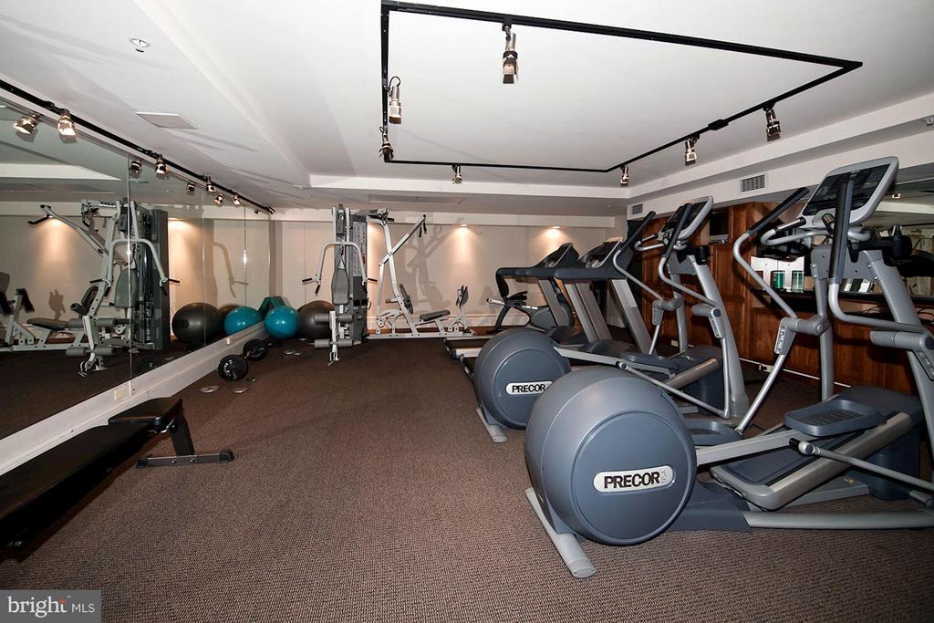 Exercise Room - 4821 MONTGOMERY LN #104, BETHESDA