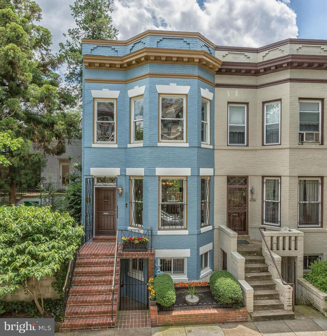 Single Family Home for Sale at 1748 Church St Nw 1748 Church St Nw Washington, District Of Columbia 20036 United States