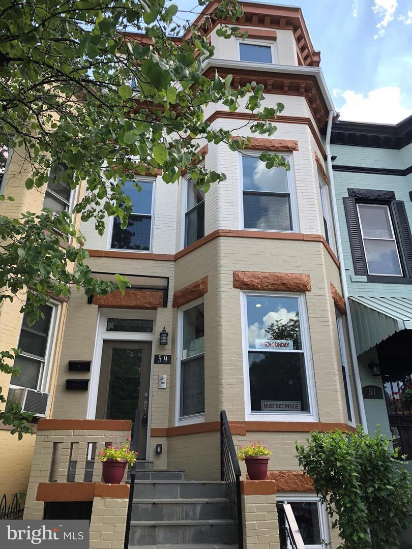 Single Family for Sale at 59 R St NE #1 Washington, District Of Columbia 20002 United States