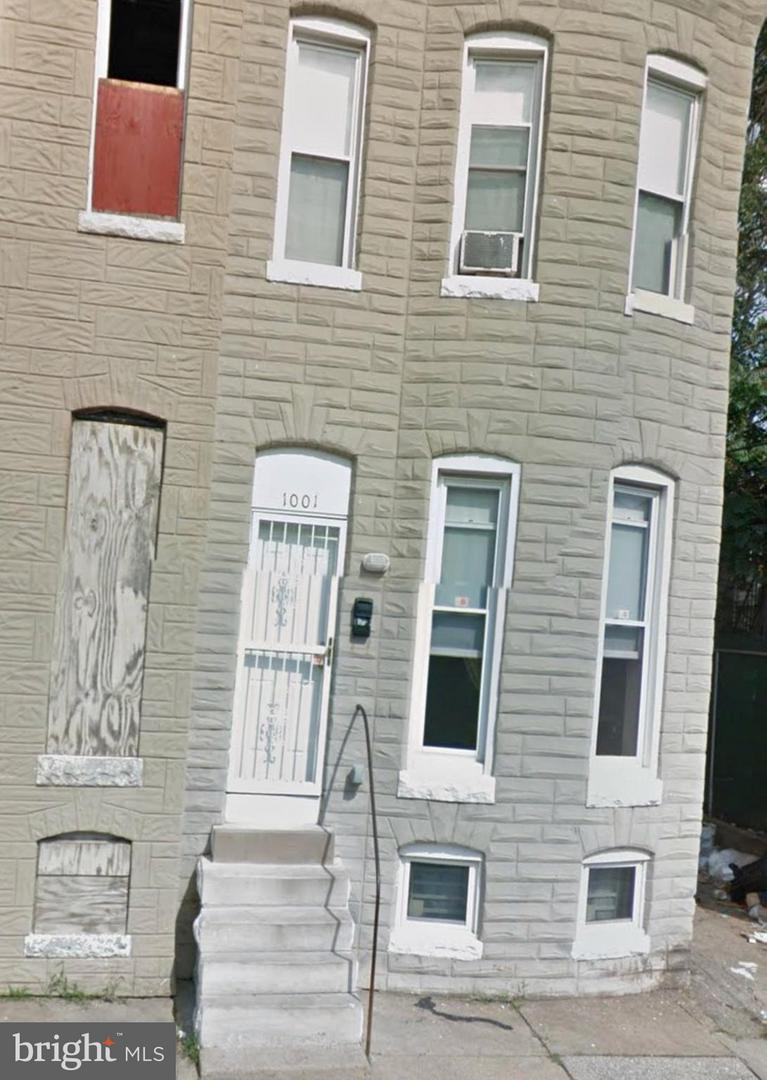 Single Family for Sale at 1001 Mckean Ave Baltimore, Maryland 21217 United States