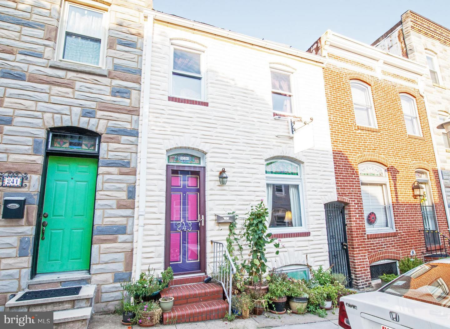 Photo of home for sale at 243 Castle Street, Baltimore MD