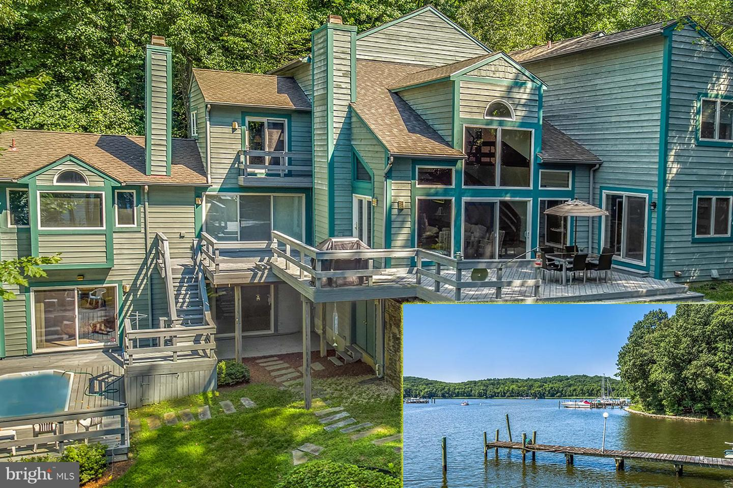 Single Family for Sale at 553 Osprey Point Rd Crownsville, Maryland 21032 United States