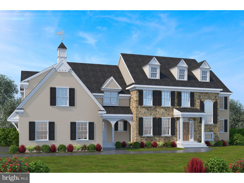 Maison unifamiliale pour l Vente à LOT 4C CREEK Road Glen Mills, Pennsylvanie 19342 États-Unis