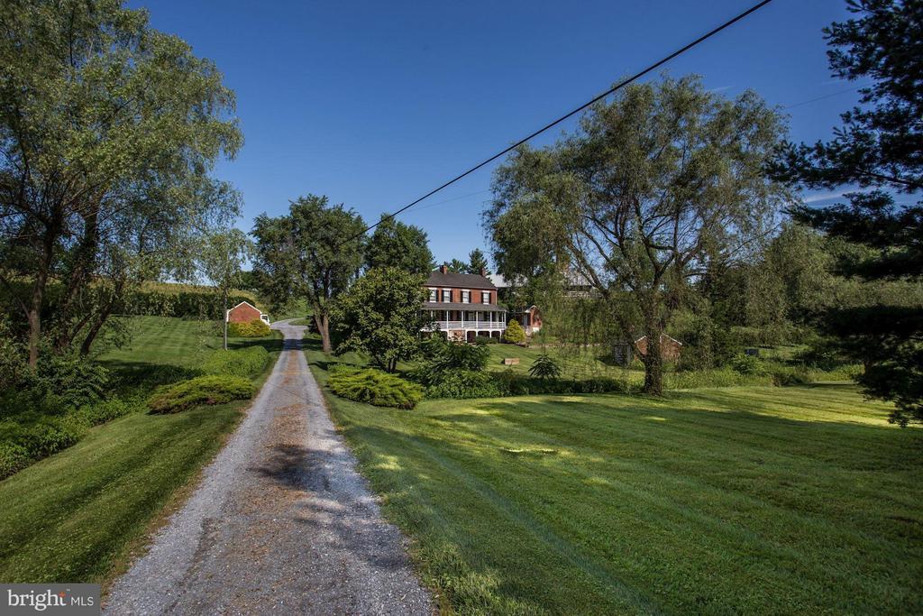Plenty of privacy on the 164 acre property - 11606 HANDBOARD RD, UNION BRIDGE