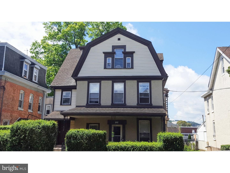 Single Family Home for Sale at 109 E 4TH Avenue Conshohocken, Pennsylvania 19428 United States