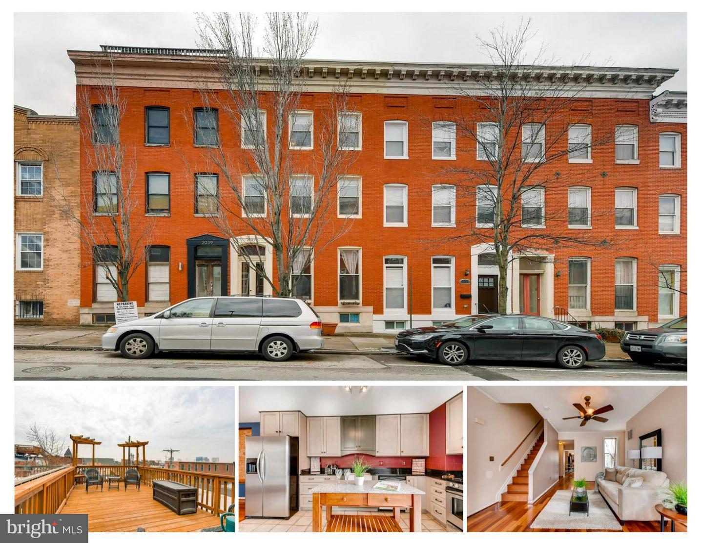 Single Family for Sale at 2037 Baltimore St E #2037 Baltimore, Maryland 21231 United States