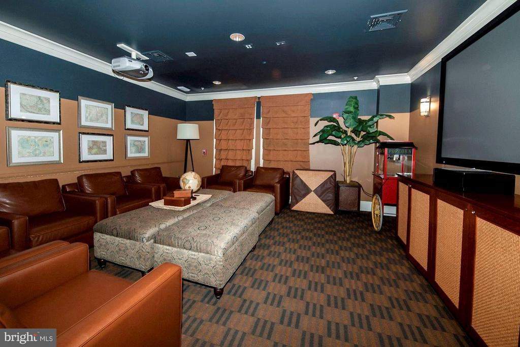 COMMUNITY MOVIE THEATER ROOM! - 2465 ARMY NAVY DR #1-210, ARLINGTON