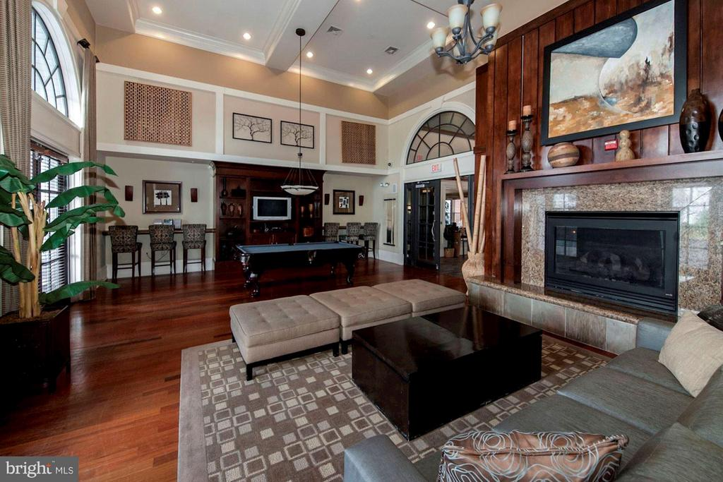 CLUB HOUSE WITH CHARMING FIREPLACE and TV! - 2465 ARMY NAVY DR #1-210, ARLINGTON