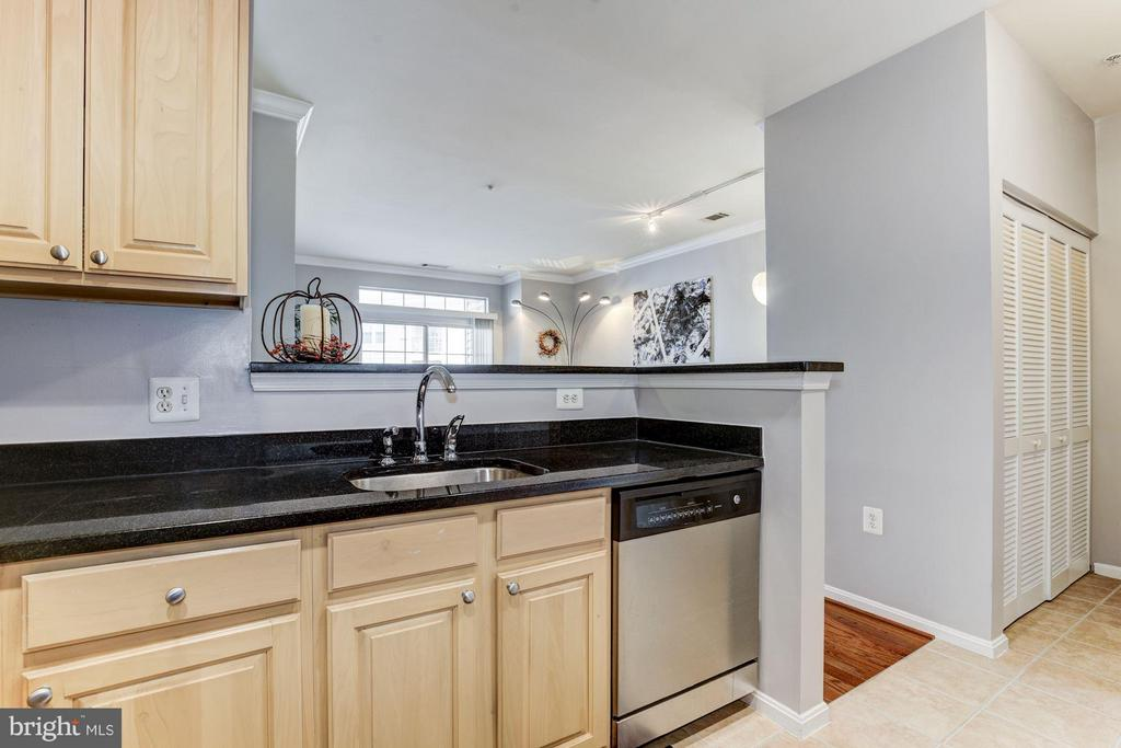 KITCHEN - STAINLESS STEEL APPS, GRANITE COUNTERS! - 2465 ARMY NAVY DR #1-210, ARLINGTON