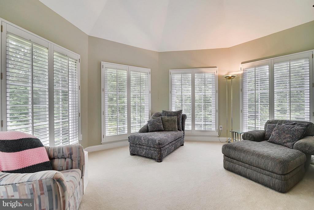 Master Sitting Room - 11305 PEACOCK HILL WAY, GREAT FALLS